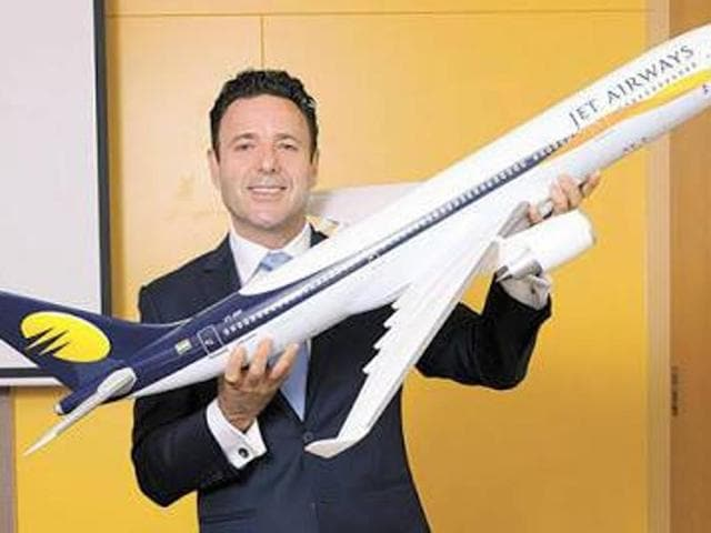 Jet Airways chief executive officer Cramer Ball has quit the airline to pursue a new opportunity, in Europe for family reasons.