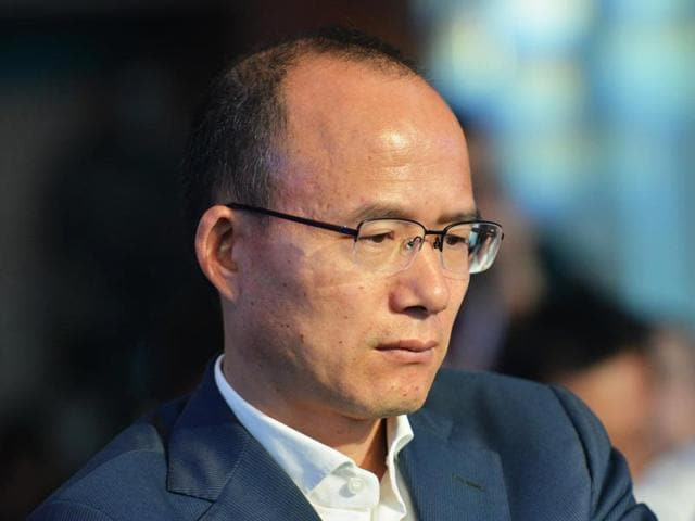 File photo of Guo Guangchang, the chairman of one of China's biggest private-sector conglomerates, Club Med owner Fosun.