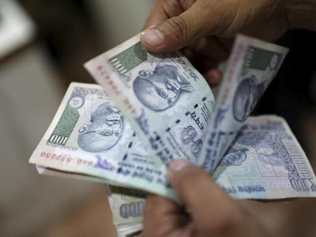 The rupee surged to a three-week high of 66.42 against the American currency after the Federal Reserve's historic episode of monetary tightening measures triggered panic dollar selling.