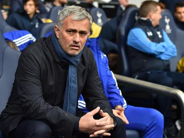 A file photo of Chelsea's Portuguese manager Jose Mourinho reacting during the English Premier League football match between Newcastle United and Chelsea at St James' Park.