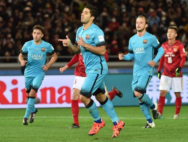 Club World Cup,Luis Suarez,Lionel Messi