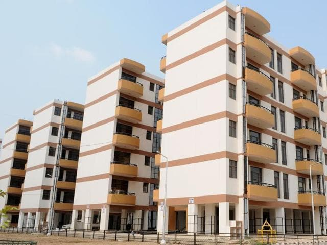 Chandigarh Housing Board Flats at Sector 63.