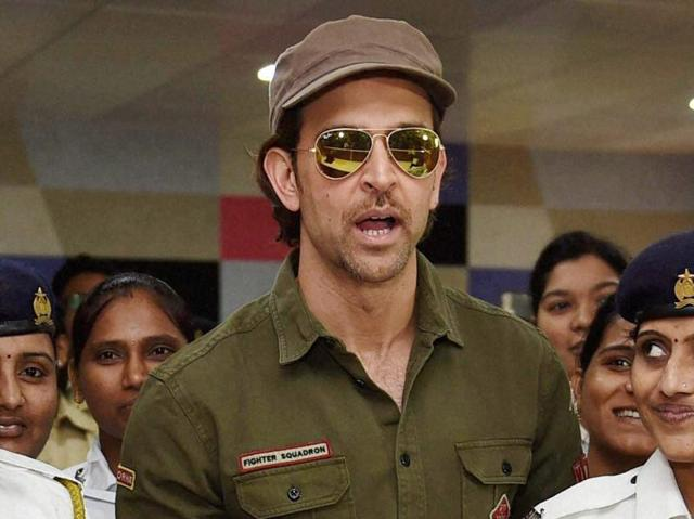 two films starring Hrithik Roshan have received copyright infringement notices this month.