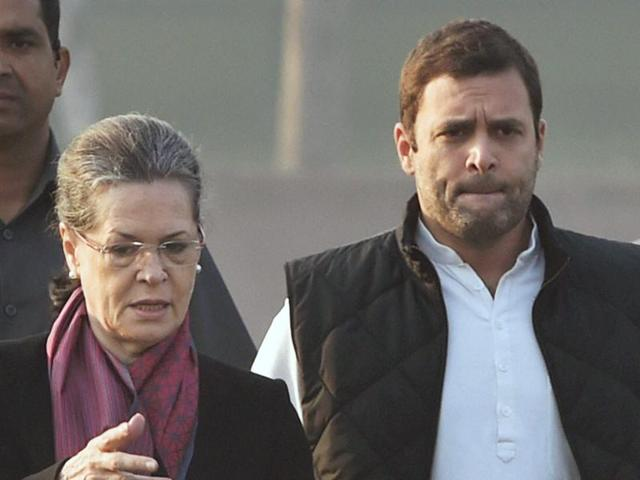 Congress president Sonia Gandhi and vice-president Rahul Gandhi will appear in the court in connection with the National Herald case on Saturday.(PTI File Photo)