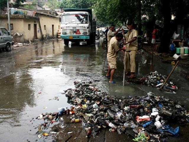 BMC,Centre,Sewage system