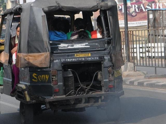 Jharkhand news,pollution,ban on diesel autos
