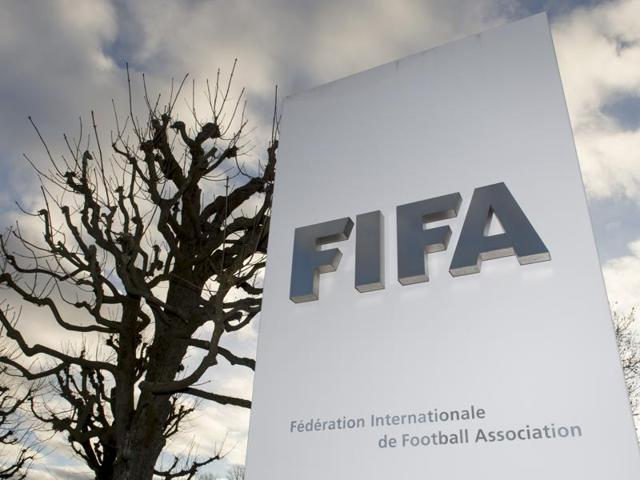 A file photo of the FIFA headquarters in Zurich, Switzerland.