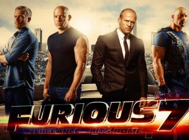 Fast & Furious 7 clocked in the maximum number of errors in a film this year.