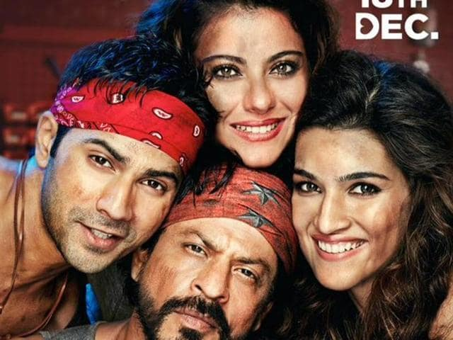 Dilwale brings Shah Rukh Khan and Kajol together after six years. Varun Dhawan and Kriti Sanon make the other pair in the Rohit Shetty film.(Red Chillies)