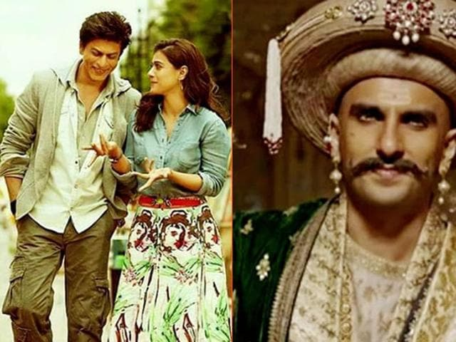 Several shows of Dilwale and Bajirao Mastani were cancelled on Friday after protests against actor SRK and filmmaker Sanjay Leela Bhansali.