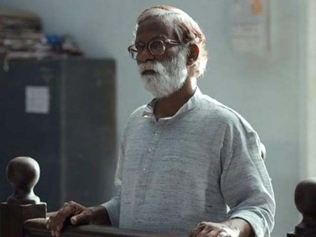 Court is about trial of an ageing folk singer accused of being a Naxal sympathiser. The film is a sharp critique of the Indian legal system.