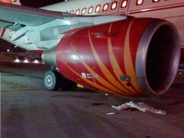 The Air India A-319 aircraft the running engine of which sucked in Ravi Subramanian (inset) at the Mumbai airport on Wednesday evening has opened fresh debate on safety of the ground staff. While the common perception is that airplanes are more vulnerable while airborne, many aviation experts say that chances of something going wrong are higher when the airplane is still on the ground.