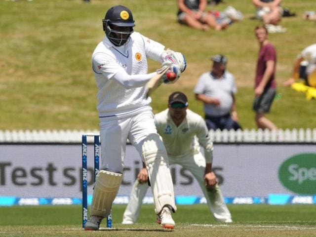 Trent Boult of New Zealand bowls during day one of the International Test cricket match between New Zealand and Sri Lanka at Seddon Park in Hamilton.