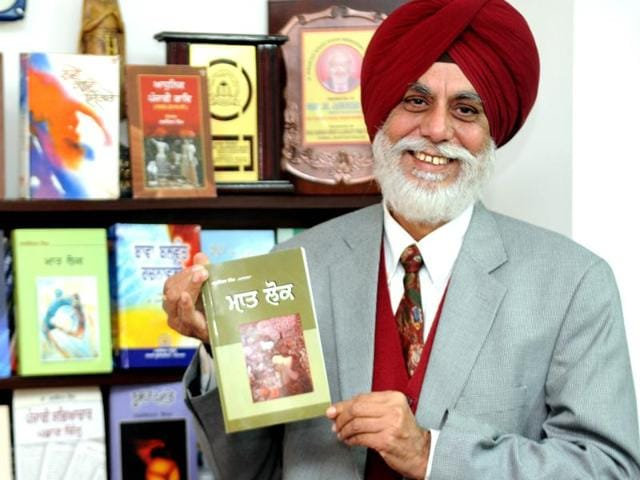 """""""I feel not only literary fraternity but people at large must put forward their views on the incidents that divide society,"""" said Sahitya Akademi Award in Punjabi Jaswinder Singh."""