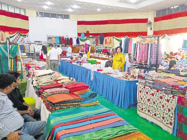 Artisans from across the country will participate in the seventh edition of the event which will have around 70 stalls.(HT File Photo)