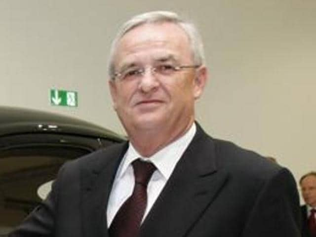 File photo of Martin Winterkorn, ex-CEO of Volkswagen AG who stepped down after the massive pollution-cheating scandal came to fore. German media reported on Friday that Winterkorn months after he quit still draws fat salary from the carmaker.