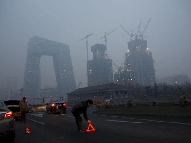 Smog,China,Beijing