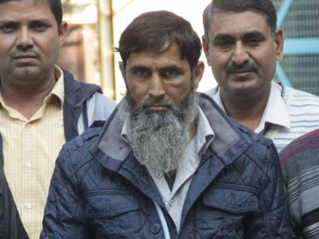 Mohammad Asif, a suspected member of Al-Qaeda in the Indian Subcontinent (AQIS) arrested by the Delhi Police Special Cell.
