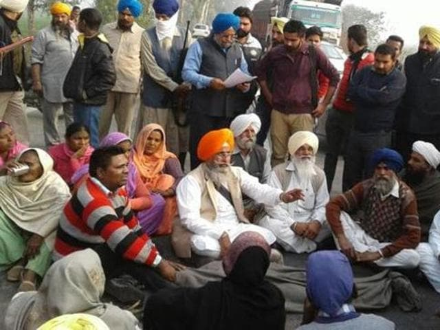 A transport company of an Akali leader mowed down a teenager at Makhu town, 60 km from Ferozepur, on Thursday.