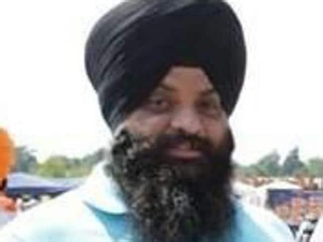 Khalistani terrorist Paramjeet Singh alias Pamma who was nabbed by the Portugal police.(HT Photo)