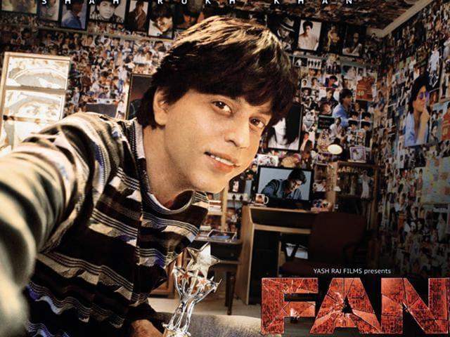 SRK's Fan will be released in April, 2016. (Twitter)