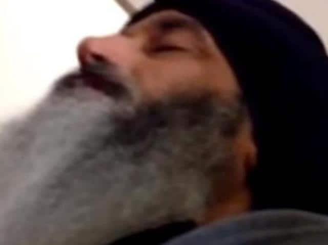 US Sikh,viral video,SGPC