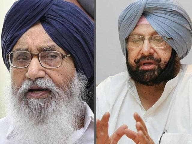 """Captain Amarinder Singh took oath touching a """"gutka"""" to his forehead promising the world to the people gathered at the rally, which  was enough to give a political shock to the SAD which has used Sikhism to flavour its politics for decades."""