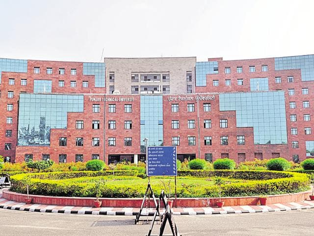 Punjab Technical University, Jalandhar.(HT Photo)