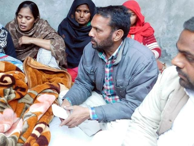 The victim's family decided not to hold the prayer for him as long as the main accused were free.