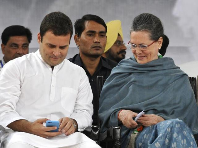Congress president Sonia Gandhi has urged party leaders, office bearers and workers not to make a spectacle of her appearance along with Rahul Gandhi in a Delhi court in connection with the National Herald case on Saturday.