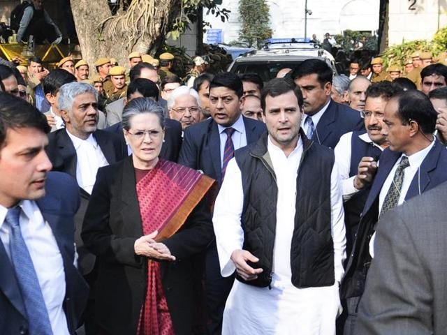 A Delhi court on Saturday granted bail to Congress leaders Sonia Gandhi and Rahul Gandhi in the National Herald case in which they have been accused of misuing funds from a newspaper once run by their family.