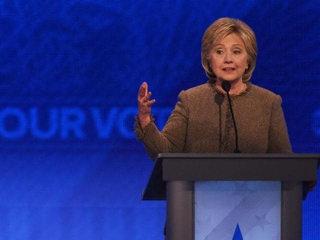 Slamming Trump for his anti-Muslim rhetoric including his call to temporarily ban Muslims from entering the US, 68-year-old Clinton said the first line of defence against radicalisation is in Muslim-American community.
