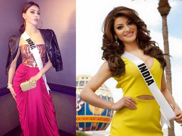 The model-turned-actor Urvashi Rautela, who will represent India at the Miss Universe 2015 in Las Vegas on Sunday, shot to fame after appearing in rapper Yo Yo Honey Singh's single Love Dose.