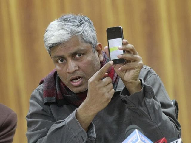 """Undeterred by Union minister Arun Jaitley's decision to slap criminal and civil defamation cases against Arvind Kejriwal and his party colleagues, Aam Aadmi Party leader Ashutosh said on Sunday that the party was neither """"scared"""" nor """"threatened""""."""