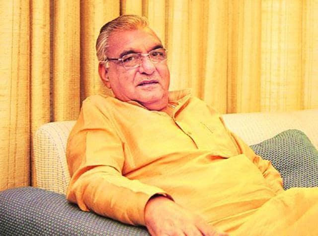 Former Haryana chief minister Bhupinder Singh Hooda.