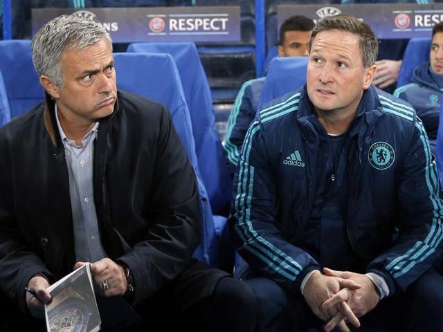 Chelsea's interim manager Steve Holland.