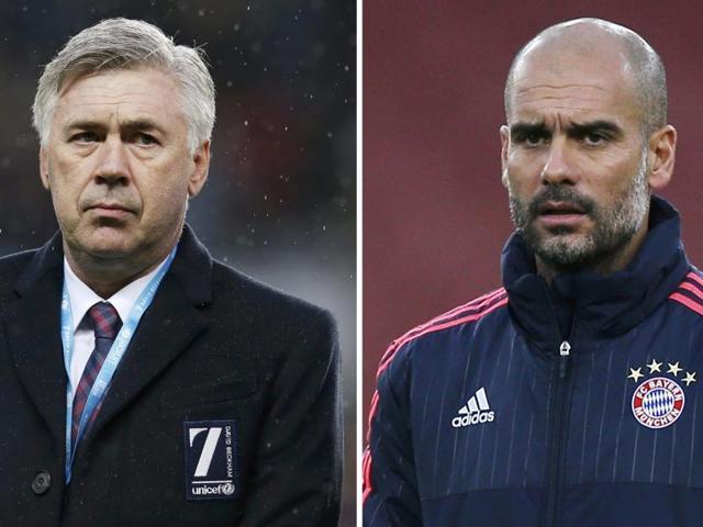 Bayern Munich,Pep Guardiola,Carlo Ancelotti