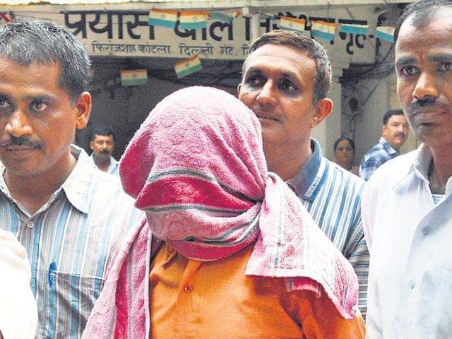The 20-year-old convicted of gangraping and killing a 23-year-old paramedic student in New Delhi in 2012 refuses to step outside of his NGO home.(Sushil Kumar/ HT)
