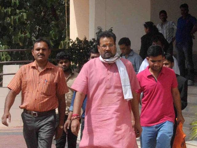 Former minister Laxmikant Sharma was arrested for his alleged role in Data Entry and Computer Operators Recruitment scam.