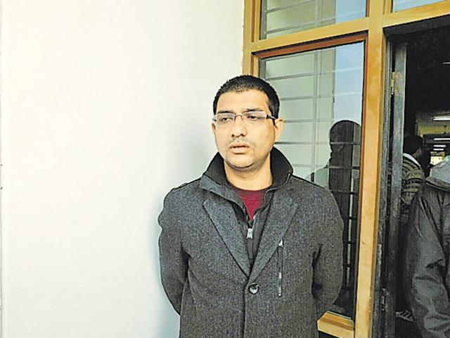 Amit Doda, one of the accused in the Abohar murder case.