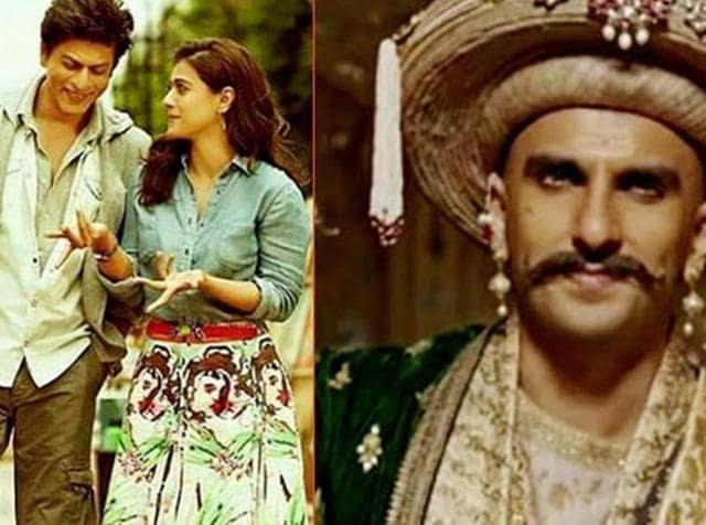 Dilwale's first weekend collections have surpassed those of Deepika Padukone, Ranveer Singh's Bajirao Mastani.