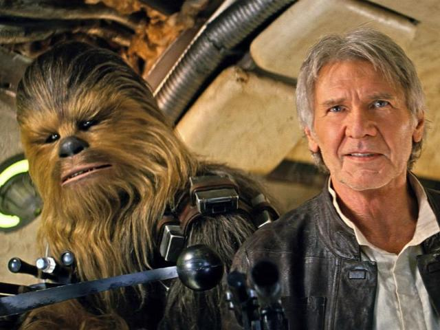 Chewie, we're home: Star Wars The Force Awakens is back at the top of the charts as it clocks biggest domestic opening with $238 million in ticket sales.