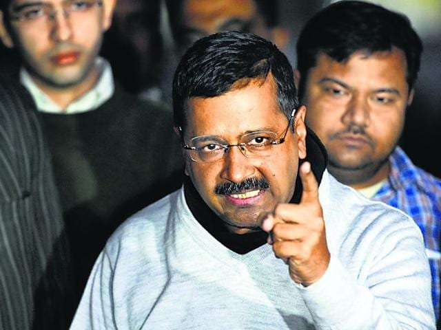 File photo of Delhi Chief Minister Arvind Kejriwal. Responding to Union finance minister Arun Jaitley's defamation suit against him, Kejriwal said on Monday, December 21, 2015, that he wasn't initmidated by it and his fight against corruption will continue.