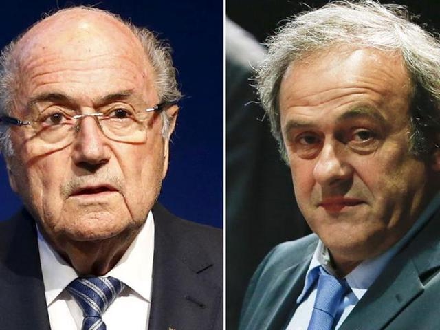 Fifa,Michel Platini,Sepp Blatter