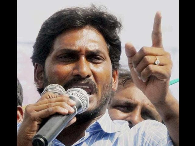File photo of YSR Congress chief YS JaganMohan Reddy.