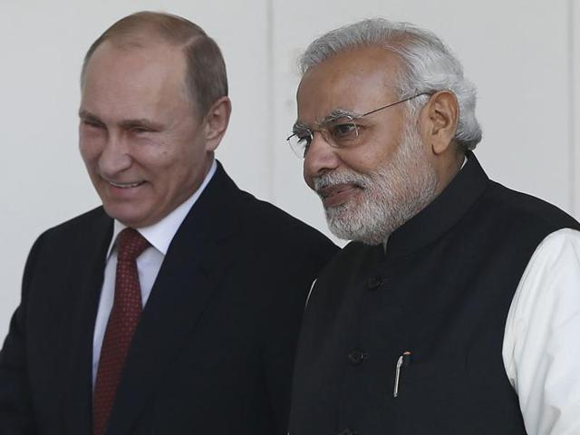 On his two-day visit to Russia, Narendra Modi will look to strengthen economic ties, normally a weaker point of Indo-Russian relations.