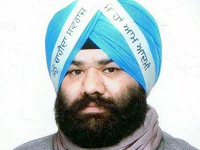 Aam Aadmi Party spokesman and legal cell head Himmat Singh Shergill