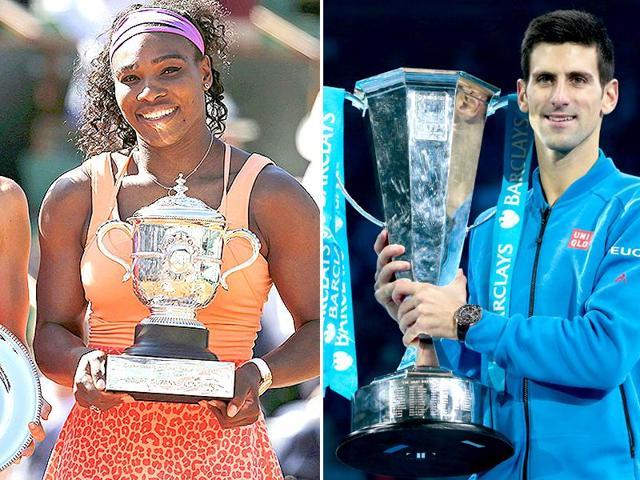 Serena Williams,Novak Djokovic,Tennis Grand Slam