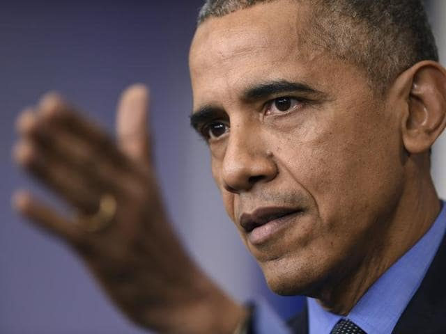 """In response to a question about criticism of his presidency, Obama said some of that is legitimate and expected but there is some of it that has to do with his """"background""""."""