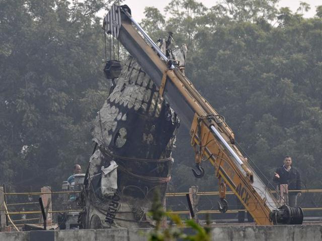 BSF plane crash